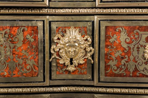 Furniture  - Louis XIV Boulle Marquetry commode attributed to Nicolas Sageot