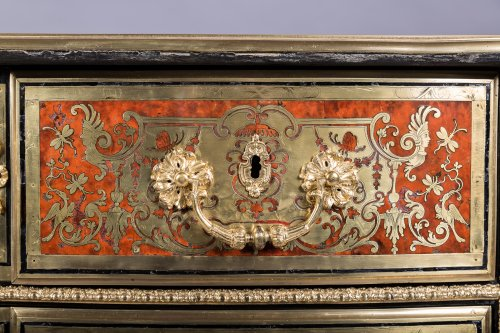 Louis XIV Boulle Marquetry commode attributed to Nicolas Sageot -