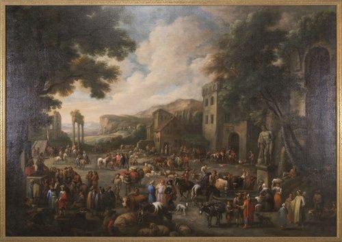 Marketplace - Peeter van Bredael (1629-1719)