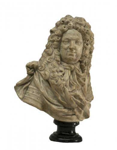 Coysevox, attributed to, circle of - Bust of Grand Dauphin
