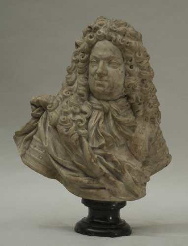Coysevox, attributed to, circle of - Bust of Grand Dauphin - Sculpture Style