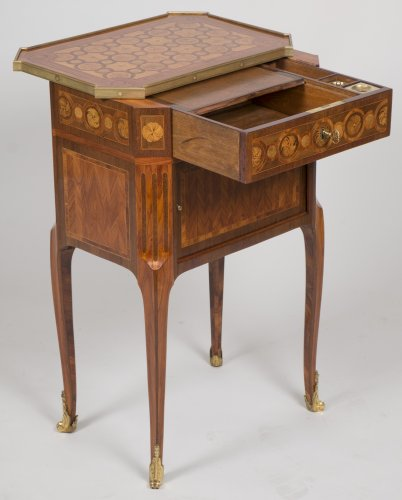 Antiquités - Writing table stamped RVLC