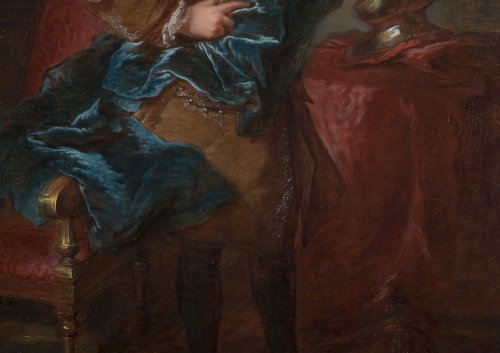 18th century - Louis-Michel Van Loo - portrait of a man wearing the Order of Saint-Esprit
