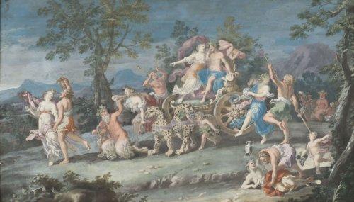 Paintings & Drawings  - Pair of gouaches - attributed to Richard Van Orley