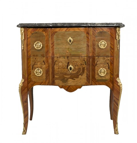 Small Commode Stamped Roussel