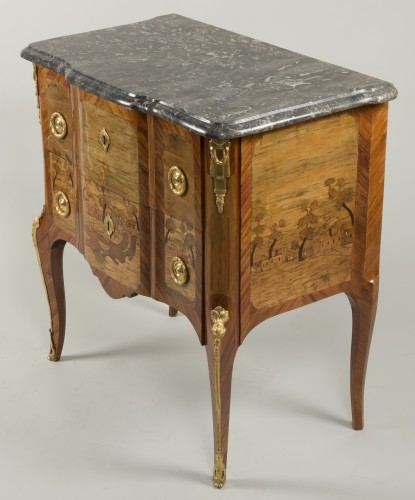 Small Commode Stamped Roussel - Transition