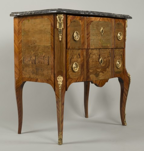 Transition - Small Commode Stamped Roussel
