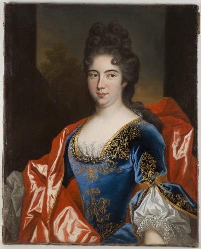 Workshop of Nicolas de Largillière, Portrait of Marie Dorothée du Saux - Paintings & Drawings Style