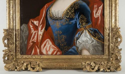 Antiquités - Workshop of Nicolas de Largillière, Portrait of Marie Dorothée du Saux