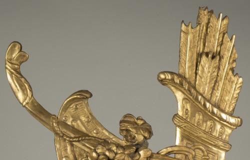 19th century - Gilt wood trophy