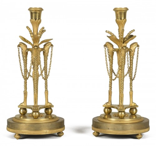 Pair of louis XVI candlesticks