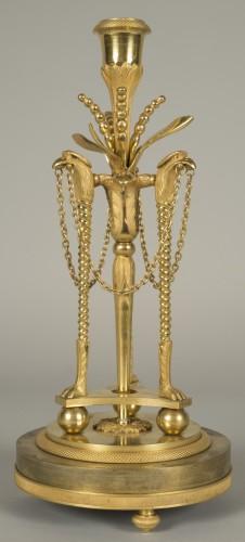 Lighting  - Pair of louis XVI candlesticks