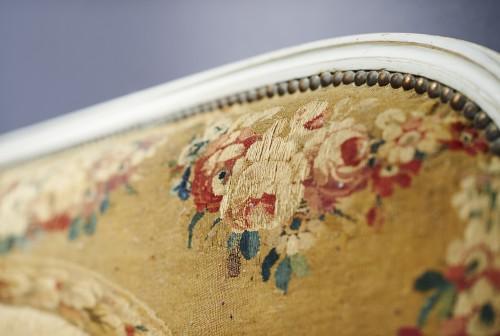 Louis XVI Aubusson tapestry salon  -