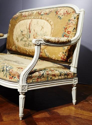 18th century - Louis XVI Aubusson tapestry salon