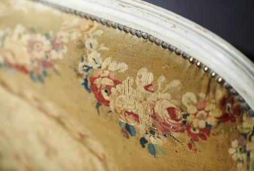 Antiquités - Louis XVI Aubusson tapestry salon