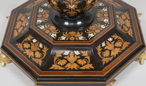 Pedestal Table Attributed to Falcini Brothers - Furniture Style