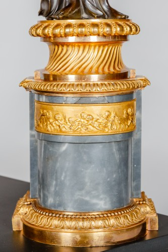 Pair of Louis XVI candelabra attributed to François REMOND -