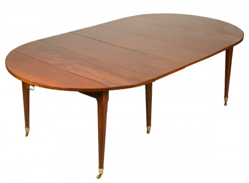 Louis XVI Table With Extensions