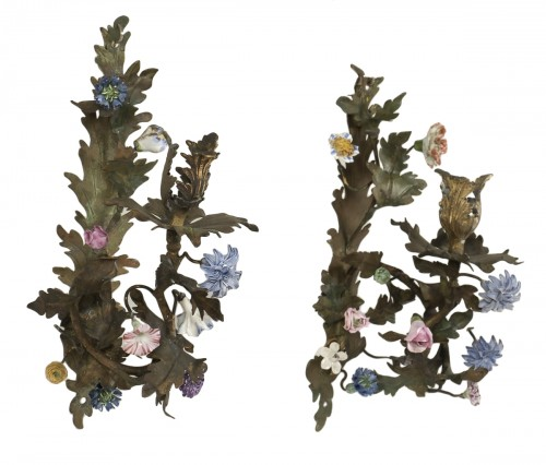 Pair Of Louis XV Sconces