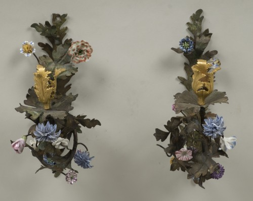 Lighting  - Pair Of Louis XV Sconces