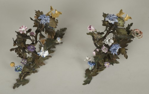 Louis XV - Pair Of Louis XV Sconces