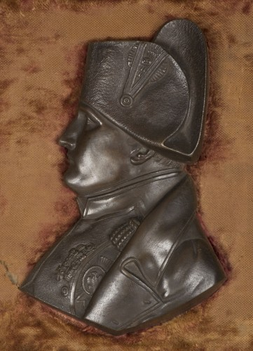 Collectibles  - Profil de Napoléon en bronze