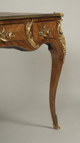 "Antiquités - Louis XV ""Bureau Plat"" stamped Reizell"