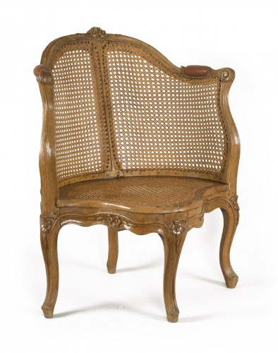 Louis XV armchair attributed to E. Meunier