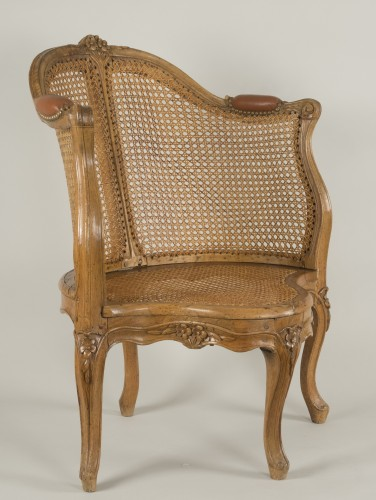 Louis XV armchair attributed to E. Meunier - Seating Style Louis XV