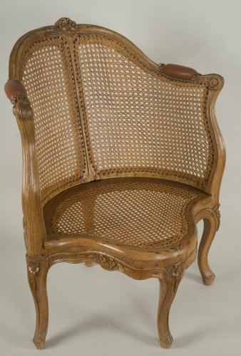 Seating  - Louis XV armchair attributed to E. Meunier