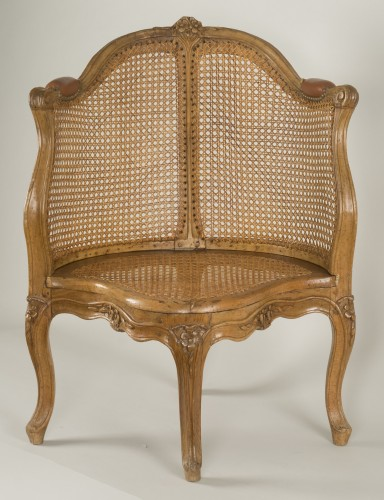 Louis XV armchair attributed to E. Meunier - Louis XV