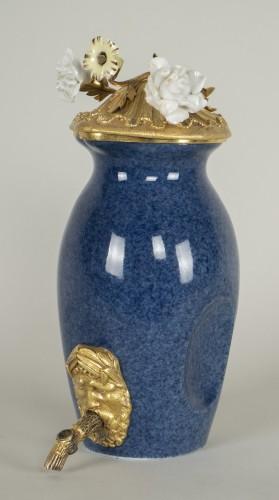 - Small Blue Porcelain Fountain