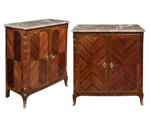 Pair of buffets stamped by Wolff