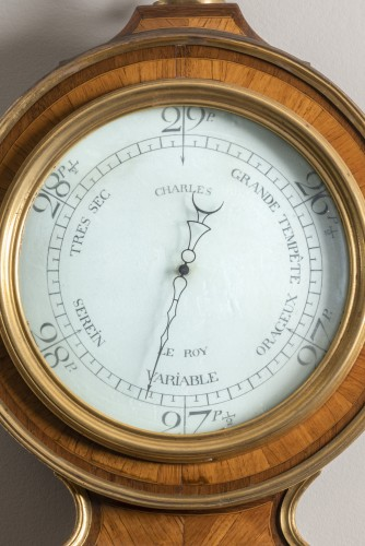 Barometer stamped by Balthazar Lieutaud - Decorative Objects Style