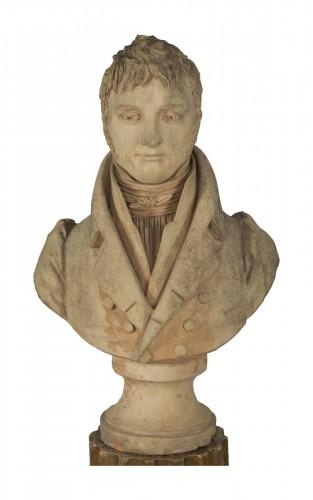 Bust of an aristocrat - Jean-Baptiste Cadet de Beaupré (1758-1823)