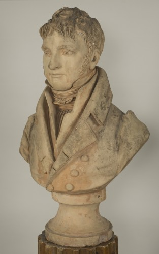Bust of an aristocrat - Jean-Baptiste Cadet de Beaupré (1758-1823) - Sculpture Style