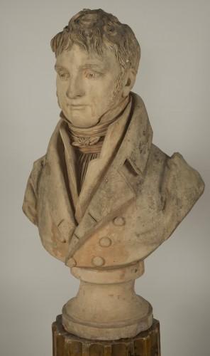 Bust of an aristocrat - Jean-Baptiste Cadet de Beaupré (1758-1823) -