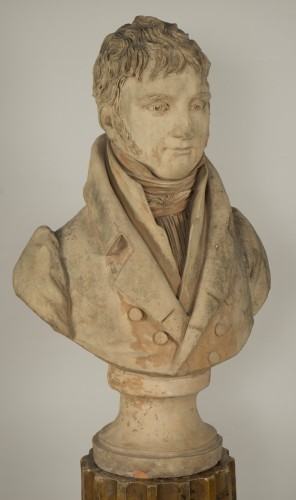 19th century - Bust of an aristocrat - Jean-Baptiste Cadet de Beaupré (1758-1823)