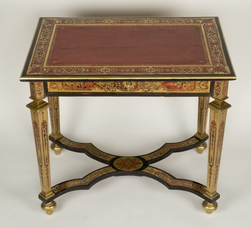 Louis XIV Boulle Marquetry Small Table - Furniture Style Louis XIV