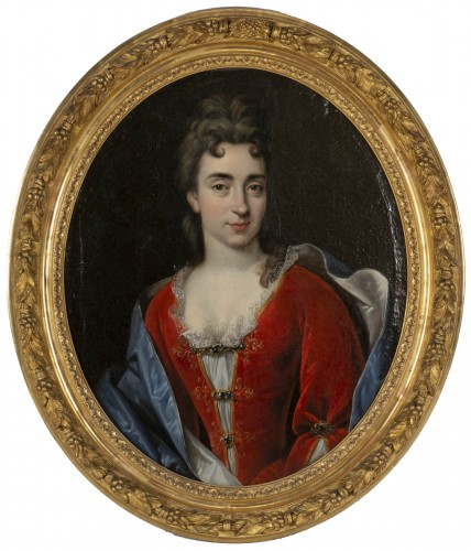 Portrait of Marie Anne Maudet by Etinne Odot Garot Dubuisson