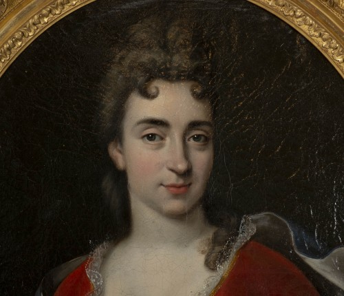 Portrait of Marie Anne Maudet - Etienne Odot Garot Dubuisson (1652, 1732) - Paintings & Drawings Style