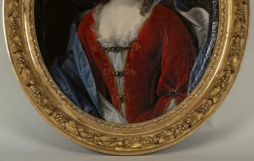 Portrait of Marie Anne Maudet - Etienne Odot Garot Dubuisson (1652, 1732) -