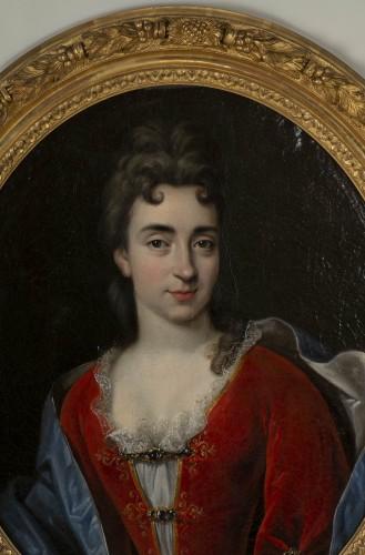 - Portrait of Marie Anne Maudet - Etienne Odot Garot Dubuisson (1652, 1732)