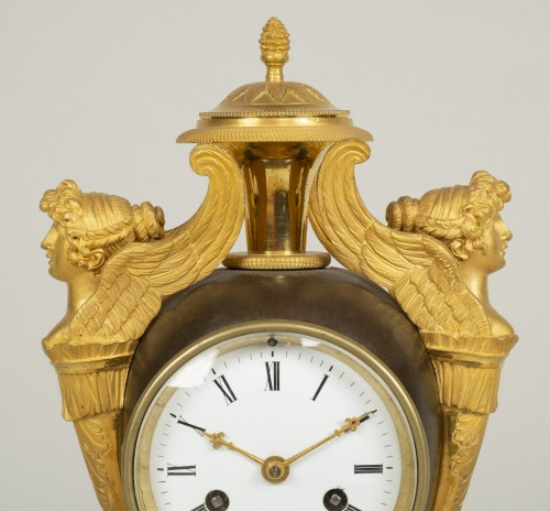 Charles X Mantel Clock - Restauration - Charles X