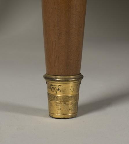 Antiquités - A Louis XVI commode à encoignures attributed to C.C. SAUNIER