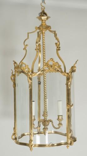 Gilded bronze lantern - Lighting Style