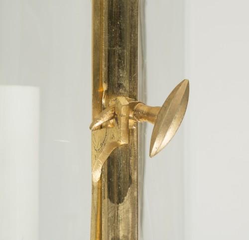 Gilded bronze lantern -