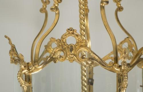 - Gilded bronze lantern