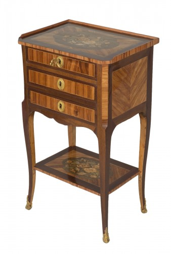 Chiffonnière table attributed to M. Ohneberg