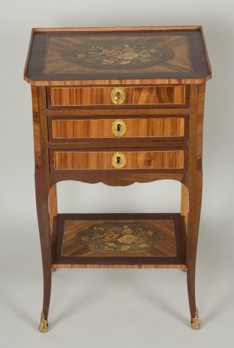 Chiffonnière table attributed to M. Ohneberg -